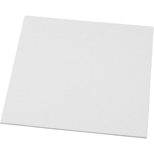 Canvas Board - White 20 x 20 cm Square