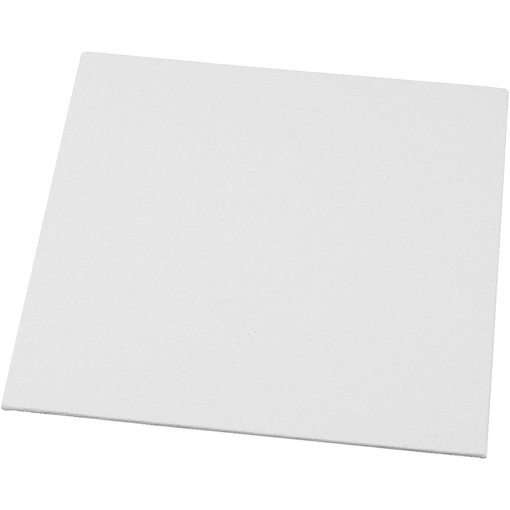 Canvas Board - White 30 x 30 cm (12x12