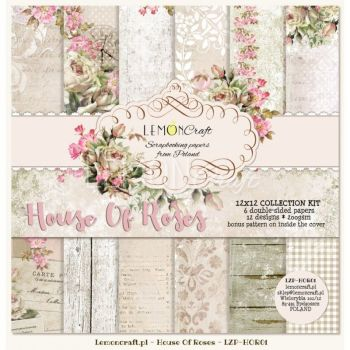 House of Roses 12 x 12 Collection Kit