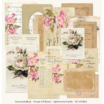House of Roses Ephemera Cards