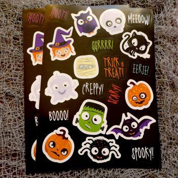 Halloween Spooky Fun Stickers