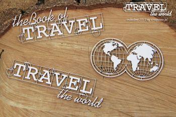 Travel The World - Globe Eng (4741)