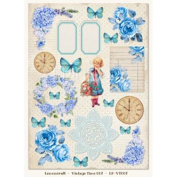 Gossamer Blue Vintage Time 007 Elements