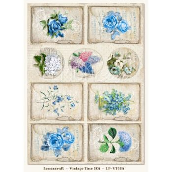 Gossamer Blue Vintage Time 006 Elements