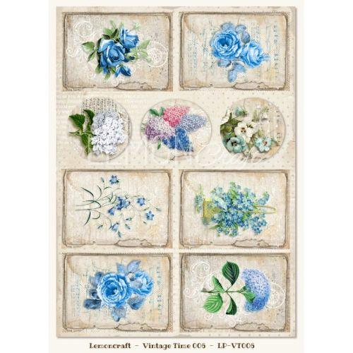 Gossamer Blue Vintage Time 006 Elements