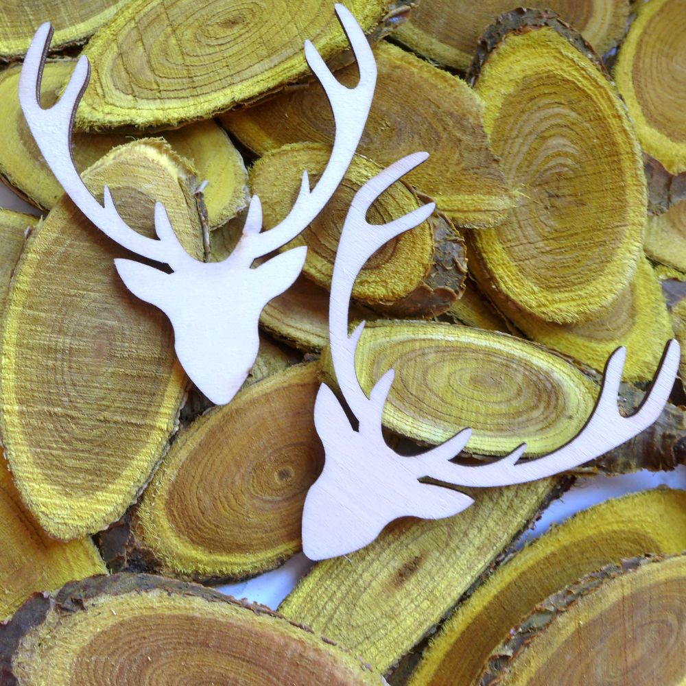 Wooden Stag Shapes