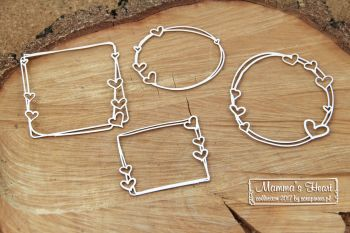 Mamma' Heart - Set of Frames (4711)