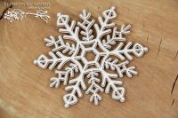 Flowers Of Winter - 2 Layers Snowflake (5281)