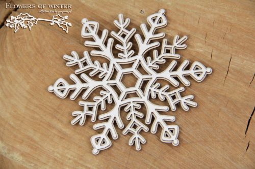 Winter At The Gates - 2 Layers Snowflake (5281)