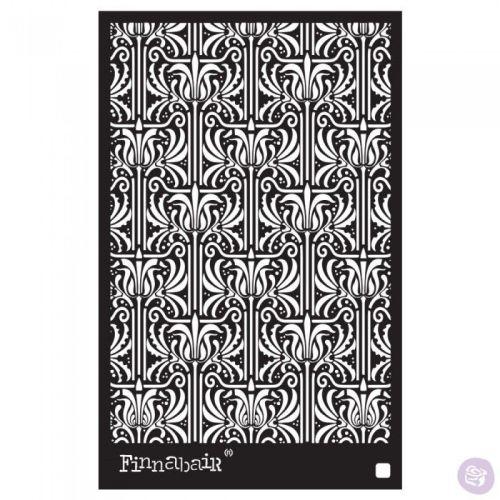 Finnabair Stencil - Iris Tapestry