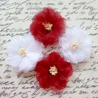Large Chiffon Flowers