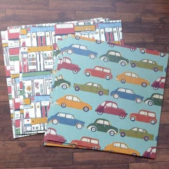 Car & House Papers - 10 x 6x6 Sheets