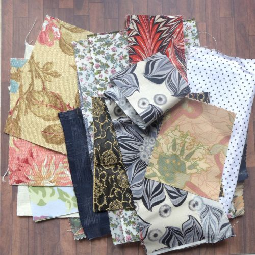 Materials Cuts - Assorted Packs - Approx 15 Pieces