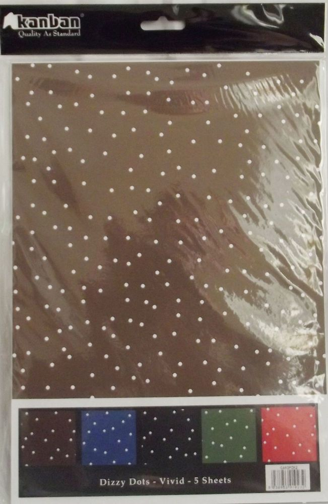 Dotty Card 5 A4 Sheets