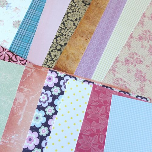 Assorted A4 Sheets of Card - Pack of 10