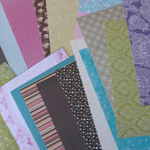 Assorted A4 Sheets of Papers - Pack of 20