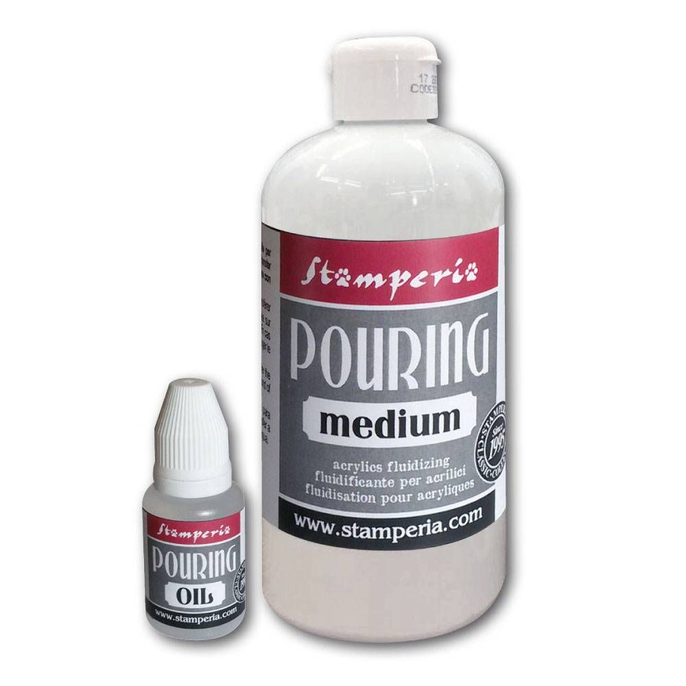 Stamperia Pouring Kit -