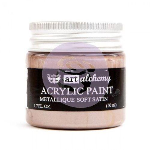 Prima Art Alchemy Acrylic Paint - Metallique Soft Satin