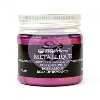 Prima Art Alchemy Acrylic Paint - Metallique Romance Pink
