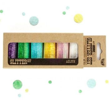 Prima Finnabair Art Ingredients - Glitter Set  Abloom