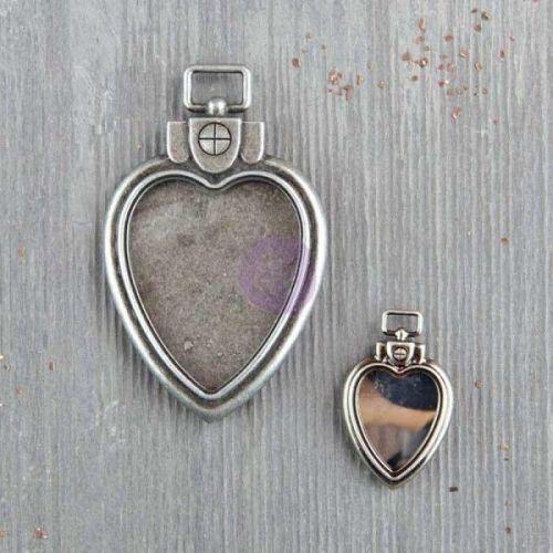 Prima Mechanicals - Heart Locket Pendants