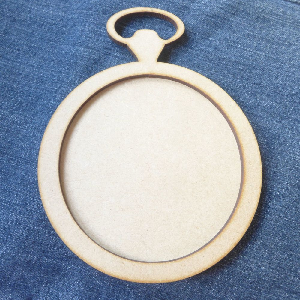 MDF Pocket Watch - Large (ADM015)