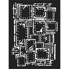 Stamperia Thick Stencil 15x20cm Steampunk (KSAT03)