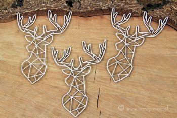 Just Chillin - Geometric Stag (5344)
