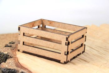 Scrapiniec MDF - Tiny Wooden MDF Crate (5348)