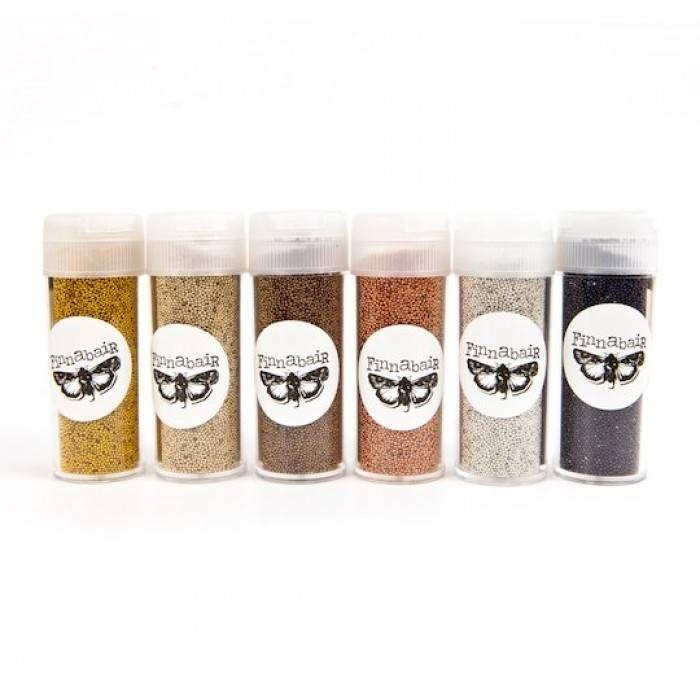 Prima Marketing Art Ingredients Metallic Micro Beads