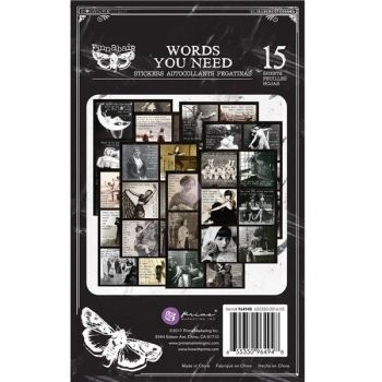 Prima Finnabair Art Daily - Planner Sticker Pad Words You Need