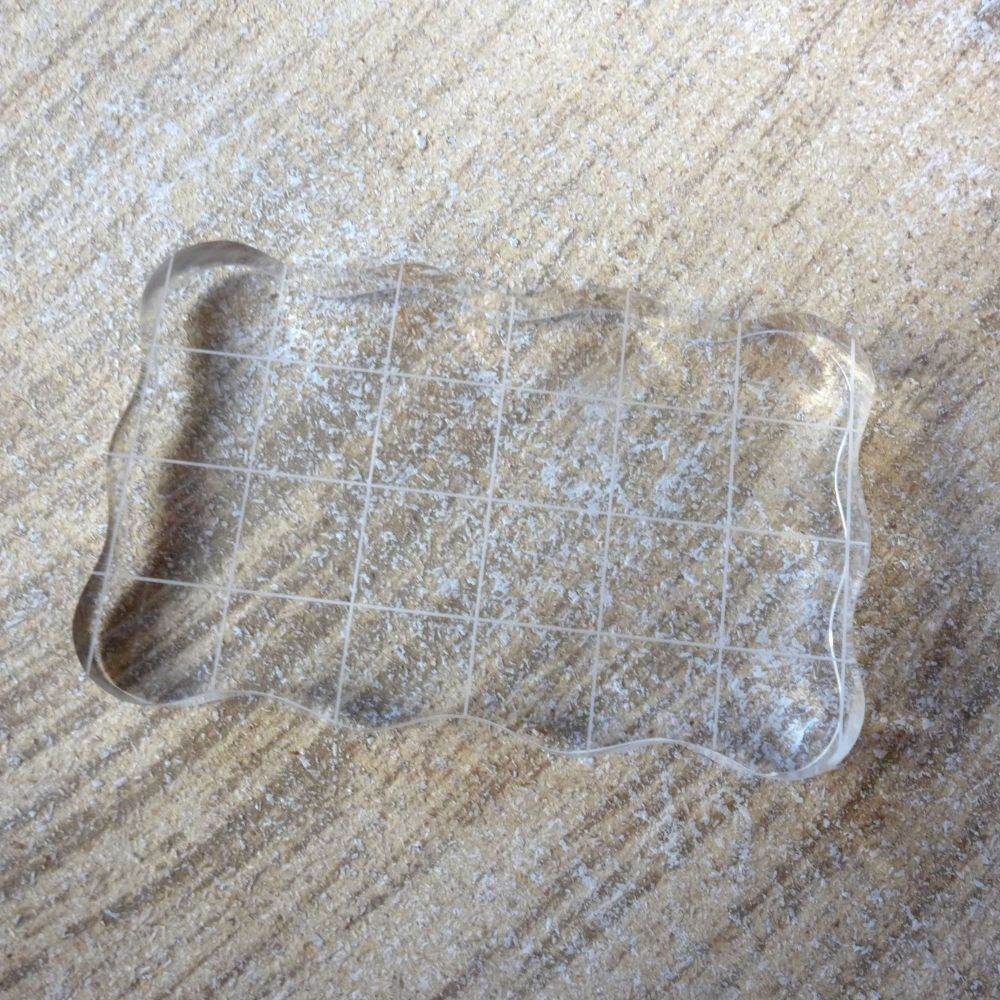 Clear Stamp Block 8 x 5cm