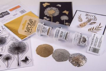 WOW Embossing Powder Trio - Cool & His Gang
