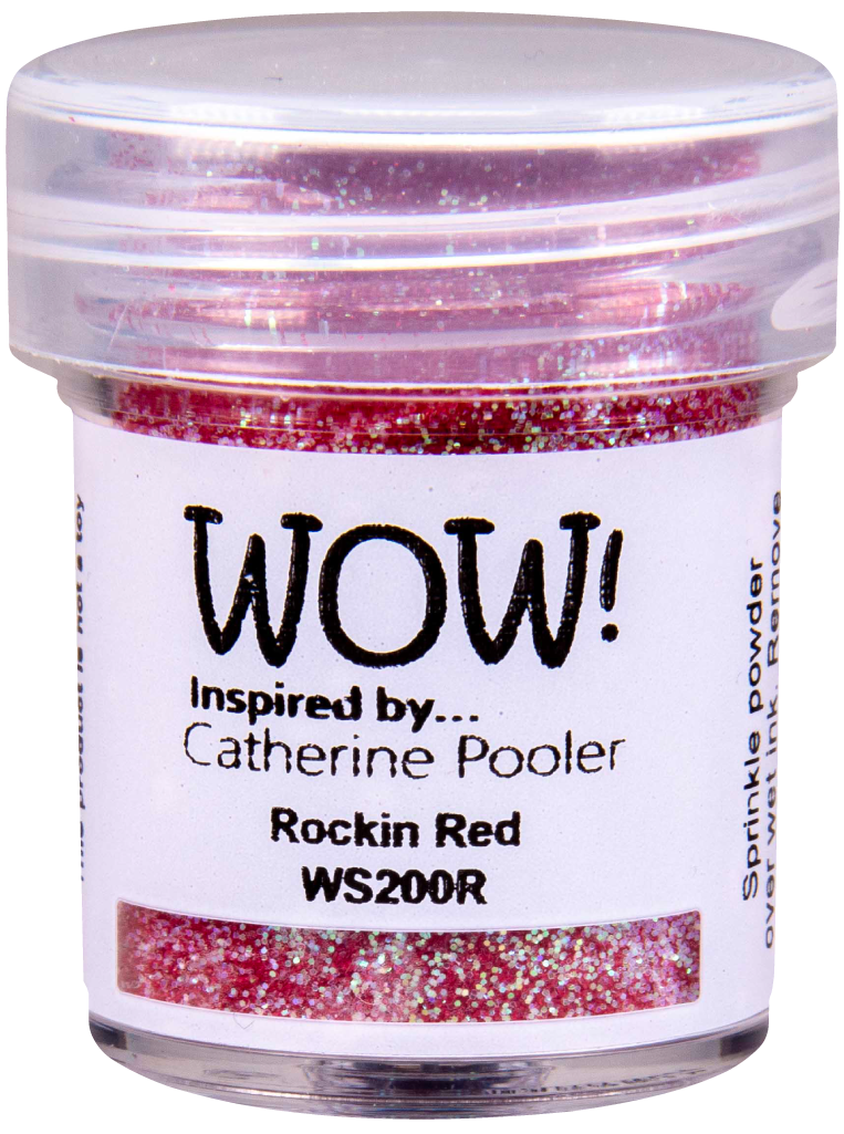 WOW Embossing Glitter - WS200 Rockin' Red *Catherine Pooler Exclusive*