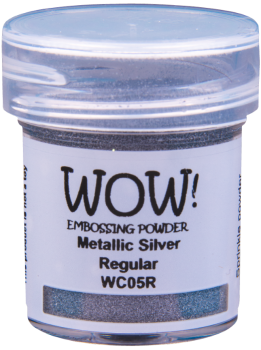 WOW Embossing Powder - WC05 Metallic Silver