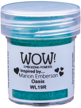 WOW Embossing Powder - WL19 Colour Blend Oasis
