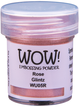 WOW Embossing Powder - WU05 Rose Glintz