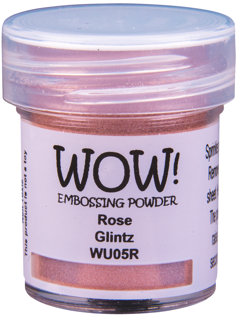 WOW Embossing Powder - WU05 Rose Glintz