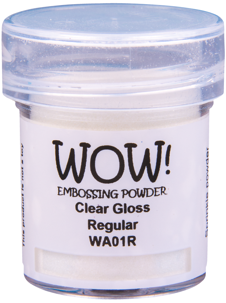 WOW Embossing Powder - WA01 Clear Gloss