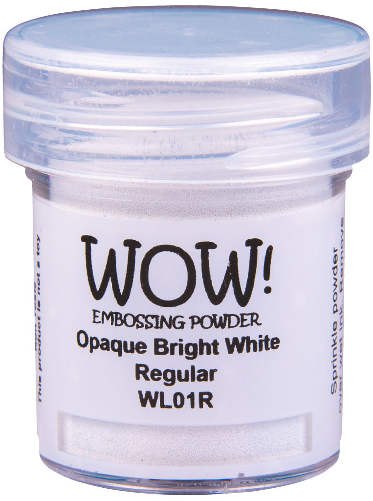 WOW Embossing Powder - WL01 Opaque Bright White