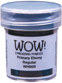 WOW Embossing Powder - WH00 Primary Ebony