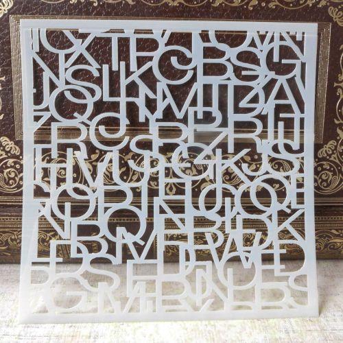 Stencil ~ Alphabet Jungle