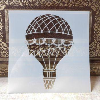 Stencil ~ Hot Air Balloon