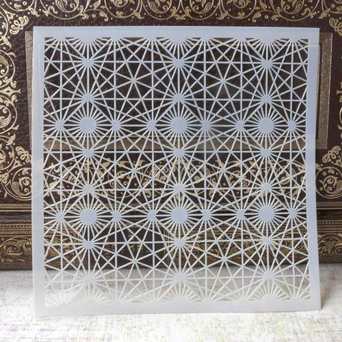 Stencil ~ Fretwork Frenzy
