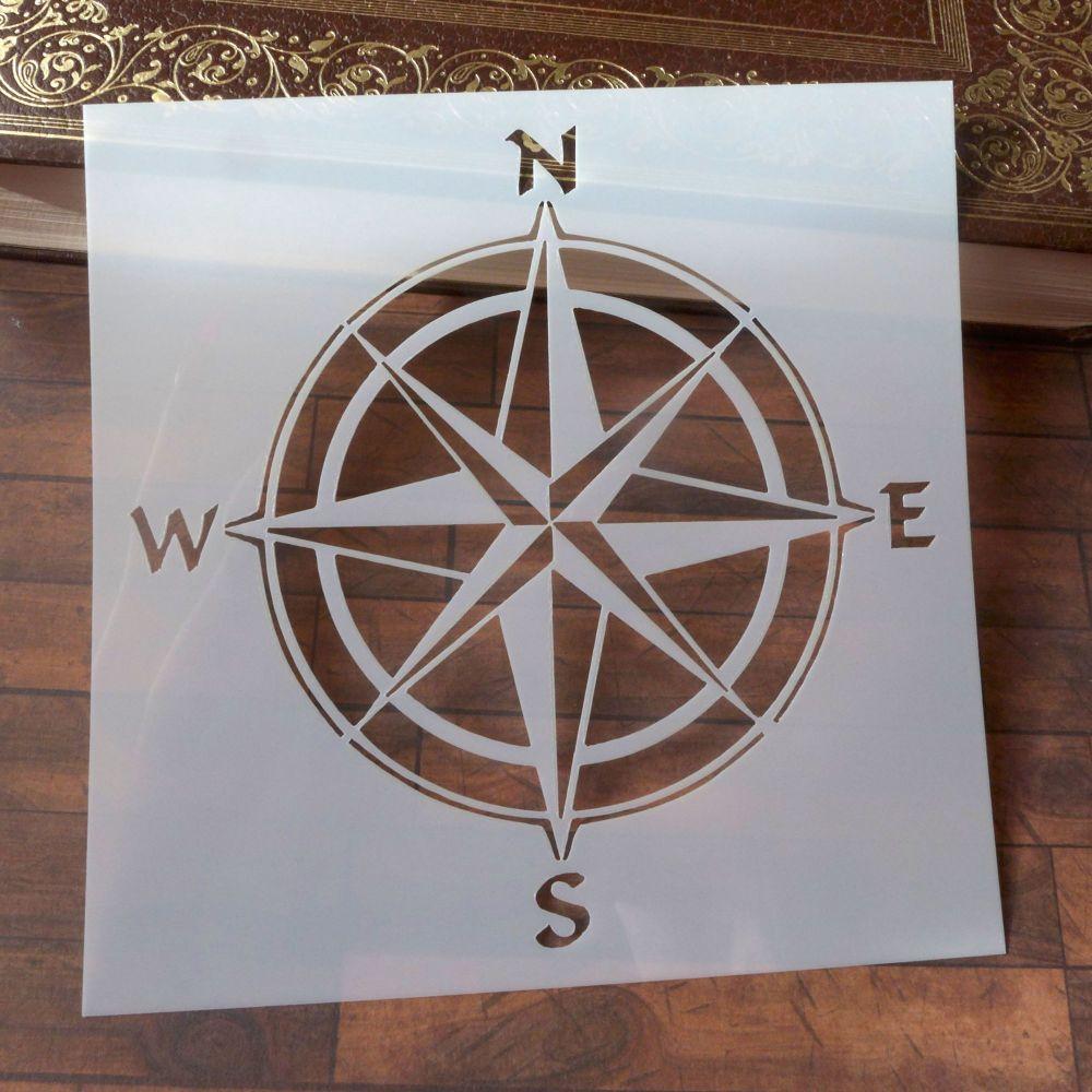 Stencil ~ Compass