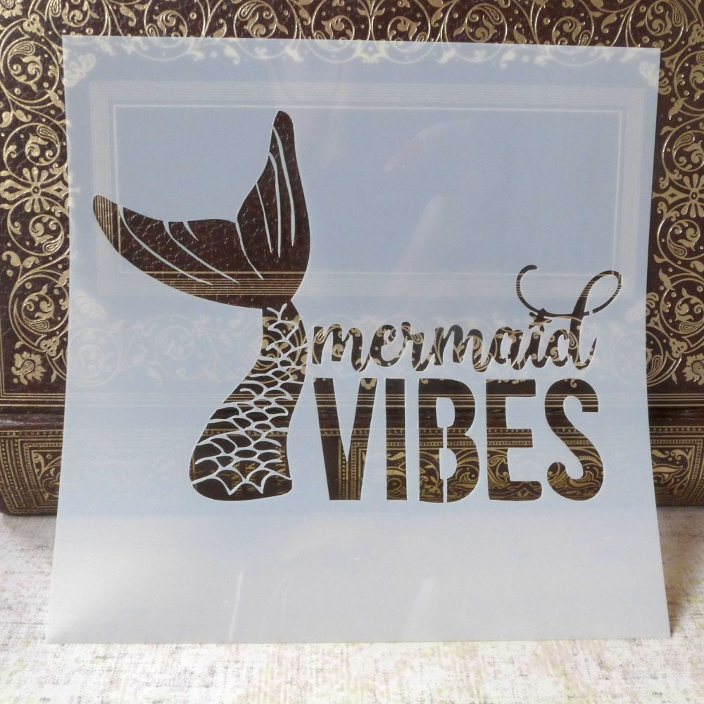Stencil ~ Mermaid Vibes
