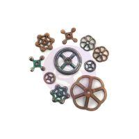 Prima Finnabair Mechanicals - Rustic Knobs