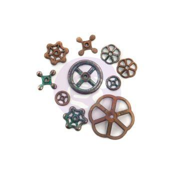 Prima Marketing Mechanicals Rustic Knobs