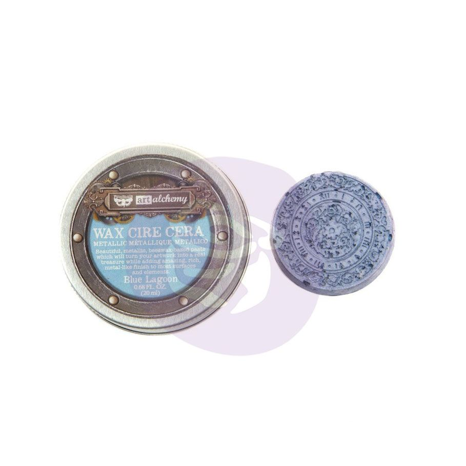 Prima Marketing Art Alchemy Metallic Wax - Blue Lagoon