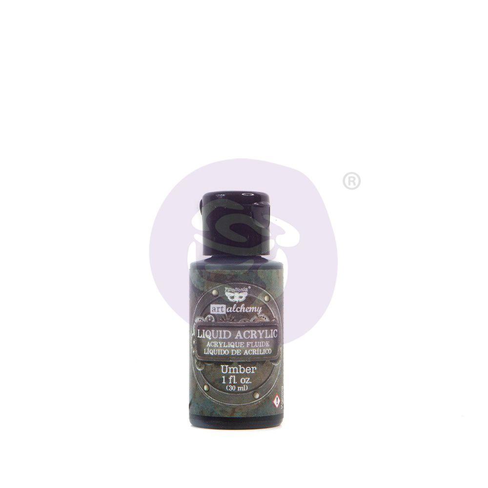 Prima Marketing Art Alchemy Liquid Acrylic Paint - Umber